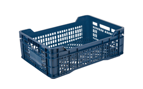 E-24-plastik-delikli-sebze-meyve-kasa-plastic-stacking-crate-perforated-container-bin-пластик-ящик-1