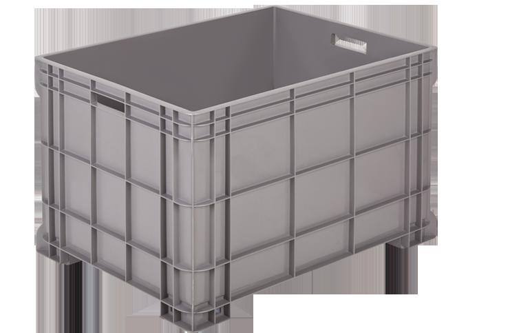 GK-2100-K-hipas-plastik-kapali-sanayi-kasa-plastic-stacking-crate-solid-container-bin-пластик-ящик-2-