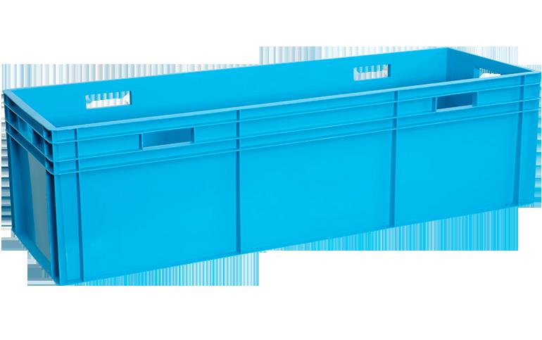 H-4133-plastik-kapali-sanayi-kasa-plastic-stacking-crate-solid-container-bin-пластик-ящик-