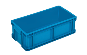 HP-160-K-hipas-plastik-kapali-sanayi-kasa-plastic-stacking-crate-solid-container-bin-пластик-ящик