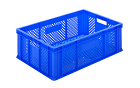 HP-2001-plastik-delikli-sebze-meyve-kasa-sepet-plastic-stacking-crate-perforated-container-bin-пластик-ящик-2-2