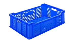 HP-2005-plastik-delikli-sebze-meyve-kasa-sepet-plastic-stacking-crate-perforated-container-bin-пластик-ящик-2-