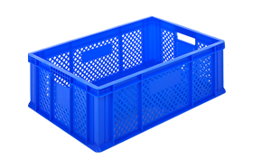 HP-2302-plastik-delikli-sebze-meyve-kasa-sepet-plastic-stacking-crate-perforated-container-bin-пластик-ящик-2-1