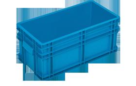 HP-260-K-hipas-plastik-kapali-sanayi-kasa-plastic-stacking-crate-solid-container-bin-пластик-ящик
