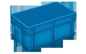 HP-27-K-hipas-plastik-kapali-sanayi-kasa-plastic-stacking-crate-solid-container-bin-пластик-ящик