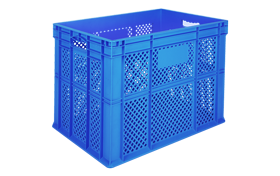 HP-4202-hipas-plastik-delikli-sebze-meyve-kasa-plastic-stacking-crate-perforated-container-bin-пластик-ящик5
