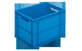 HP-4329-hipas-plastik-kapali-sanayi-kasa-plastic-stacking-crate-solid-cover-container-bin-пластик-ящик-