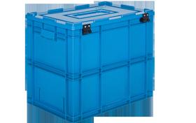 HP-4650-MK-hipas-plastik-kapakli-kapali-sanayi-kasa-plastic-stacking-crate-solid-cover-container-bin-пластик-ящик-