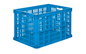 HP-6943-A-hipas-plastik-delikli-sebze-meyve-kasa-plastic-stacking-crate-perforated-container-bin-пластик-ящик2