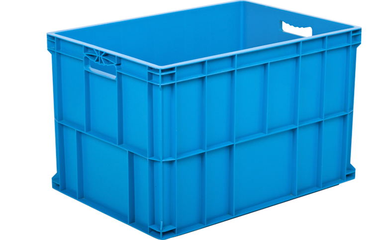 HP-6943-K-hipas-plastik-kapali-sanayi-kasa-plastic-stacking-crate-solid-container-bin-пластик-ящик-2-