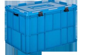 HP-6943-MK-hipas-plastik-kapakli-kapali-sanayi-kasa-plastic-stacking-crate-solid-cover-container-bin-пластик-ящик-
