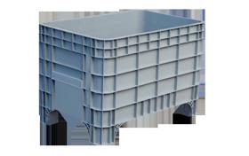 K-400-hipas-plastik-kapali-sanayi-kasa-plastic-stacking-crate-solid-container-bin-пластик-ящик1