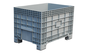 K-550-hipas-plastik-kapali-sanayi-kasa-tekerlekli-konteyner-plastic-stacking-crate-solid-container-bin-пластик-ящик1