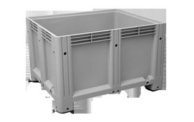 K-6500-K-hipas-plastik-kapali-sanayi-kasa-tekerlekli-konteyner-plastic-stacking-crate-solid-container-bin-пластик-ящик