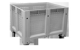 K-6600-A-hipas-plastik-kapali-sanayi-kasa-tekerlekli-konteyner-plastic-stacking-crate-solid-container-bin-пластик-ящик-