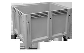 K-6600-K-hipas-plastik-kapali-sanayi-kasa-tekerlekli-konteyner-plastic-stacking-crate-solid-container-bin-пластик-ящик