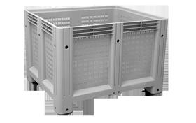 K-6700-A-hipas-plastik-kapali-sanayi-kasa-tekerlekli-konteyner-plastic-stacking-crate-solid-container-bin-пластик-ящик-