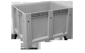K-6700-K-hipas-plastik-kapali-sanayi-kasa-tekerlekli-konteyner-plastic-stacking-crate-solid-container-bin-пластик-ящик