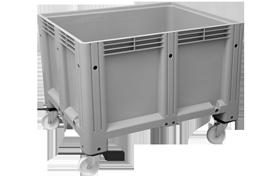 K-6700-KT-hipas-plastik-kapali-sanayi-kasa-tekerlekli-konteyner-plastic-stacking-crate-solid-container-bin-пластик-ящик
