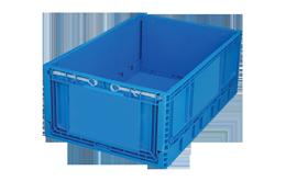 KT-4622-F-hipas-plastik-kapali-katlanir-sanayi-kasa-plastic-folding-stacking-crate-solid-container-bin-пластик-ящик
