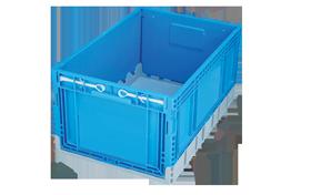 KT-4629-F-hipas-plastik-kapali-katlanir-sanayi-kasa-plastic-folding-stacking-crate-solid-container-bin-пластик-ящик