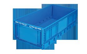 KT-4822-F-hipas-plastik-kapali-katlanir-sanayi-kasa-plastic-folding-stacking-crate-solid-container-bin-пластик-ящик2