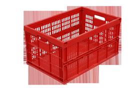 KTD-4630--plastik-katlanir-kasa-plastic-folding-stacking-bin
