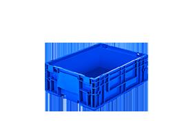 R-KLT-4315-plastik-kapali-sanayi-kasa-plastic-stacking-crate-solid-container-bin-пластик-ящик-1