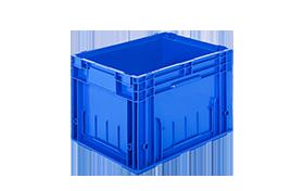 R-KLT-4329-plastik-kapali-sanayi-kasa-plastic-stacking-crate-solid-container-bin-пластик-ящик-1