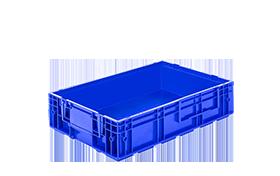 R-KLT-6415-plastik-kapali-sanayi-kasa-plastic-stacking-crate-solid-container-bin-пластик-ящик-1