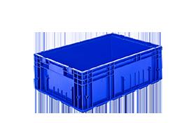 R-KLT-6422-plastik-kapali-sanayi-kasa-plastic-stacking-crate-solid-container-bin-пластик-ящик-1
