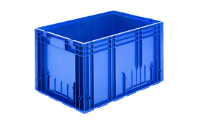 R-KLT-6436-plastik-kapali-sanayi-kasa-plastic-stacking-crate-solid-container-bin-пластик-ящик-1